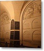The Tombs At Les Invalides - Paris France - 011335 Metal Print