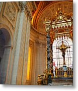 The Tombs At Les Invalides - Paris France - 01135 Metal Print by DC Photographer