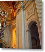 The Tombs At Les Invalides - Paris France - 01138 Metal Print