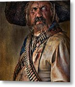 The Tombstone Bandito Metal Print