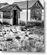 The Tool  Shed Metal Print by Baywest Imaging