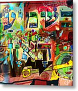 the Torah is aquired with attentive listening 11 Metal Print