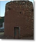 The Torreon In Lincoln City New Mexico Metal Print by Jeff Swan