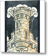 The Tower Metal Print by Nora Blansett