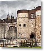 The Tower Of London Uk The Historic Royal Palace And Fortress Metal Print