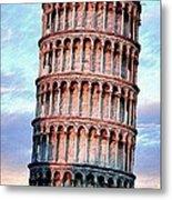 The Tower Of Pisa Metal Print