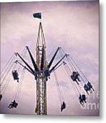 The Tower Swing Ride 1 Metal Print