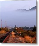 The Track To Burdell Metal Print