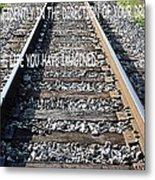 The Tracks Metal Print