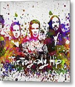 The Tragically Hip In Color Metal Print