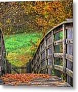 The Trail Arches On Metal Print