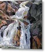 The Trail Series - Waterfalls Metal Print