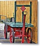The Train Cart Metal Print