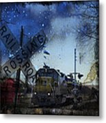 The Train Metal Print