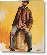 The Tramp Balladist Metal Print