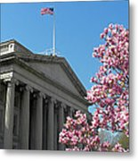 The Treasury Building Metal Print