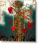 The Tree Of Hearts Metal Print