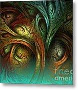 The Tree Of Life Metal Print by Sandra Bauser Digital Art