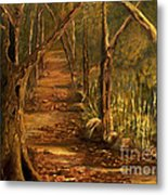 The Tree Metal Print by Sharon Burger