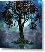 The Tree That Wept A Lake Of Tears Metal Print