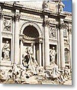 The Trevi Fountain - Rome - Italy Metal Print