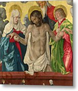 The Trinity And Mystic Pieta Metal Print