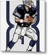 The Triplets Leader Qb 8 Metal Print