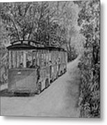 The Trolley Metal Print
