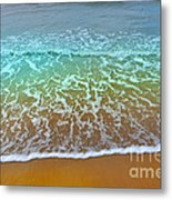 The True Beauty Of Water And Sun Metal Print
