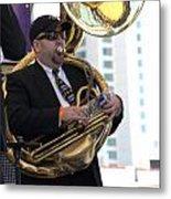 The Tuba Player Metal Print