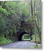 The Tunnel Metal Print by Roger Potts