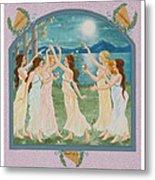 The Twelve Dancing Princesses Metal Print