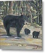Cubs - Bears - Goldilocks And The Three Bears Metal Print