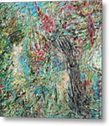 The Two And The Nature Metal Print