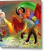 The Two Beasts Of Revelations Metal Print