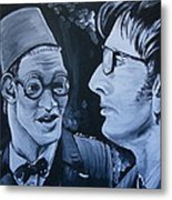 The Two Doctors Metal Print