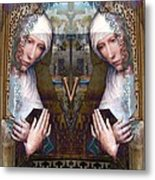the two Marys at the Alhambra Metal Print