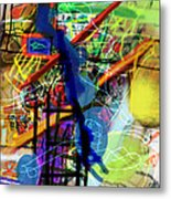 The Tzaddik Lives On Emunah 22d Metal Print