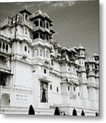 The Udaipur City Palace  Metal Print