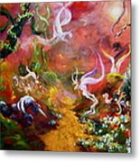 The Unicorn Metal Print by Michelle Dommer