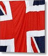 The Union Jack Metal Print