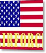 The United States Airforce Metal Print
