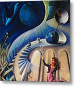 The Universe's Madame Metal Print by Dayna Reed