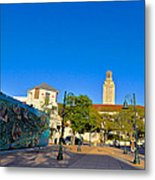 The University Of Texas Tower Metal Print