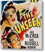 The Unseen, Us Poster Art, Top Gail Metal Print