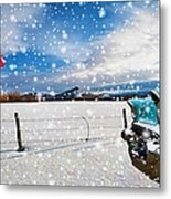 The Unwilling Winter Metal Print