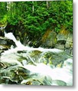 The Upper Paradise River Metal Print