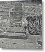 The Upstairs At The Cemetery Metal Print