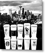 The Usual Seattle Suspects Metal Print
