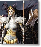 The Valkyrie Metal Print by Melissa Krauss